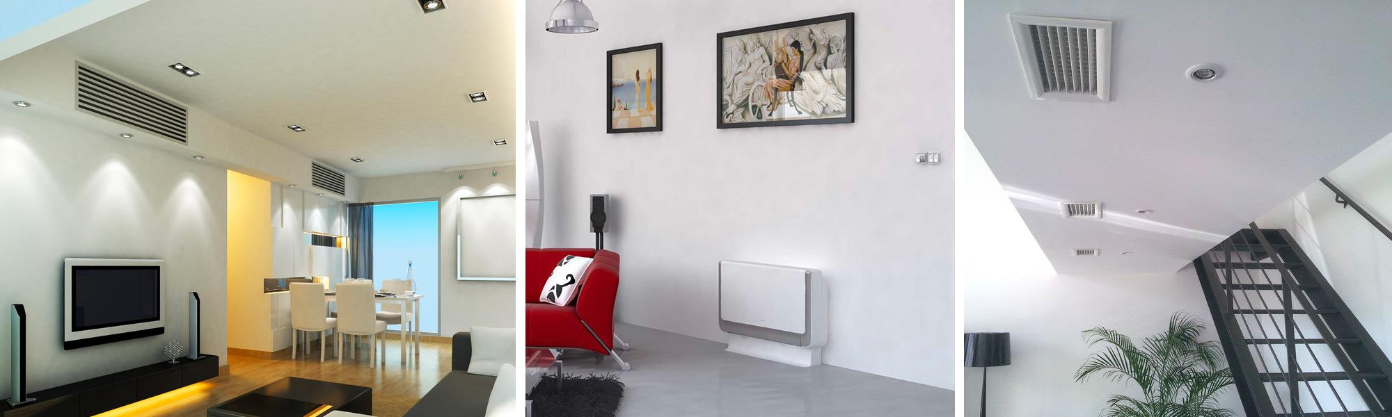 climatisation gaine et murale